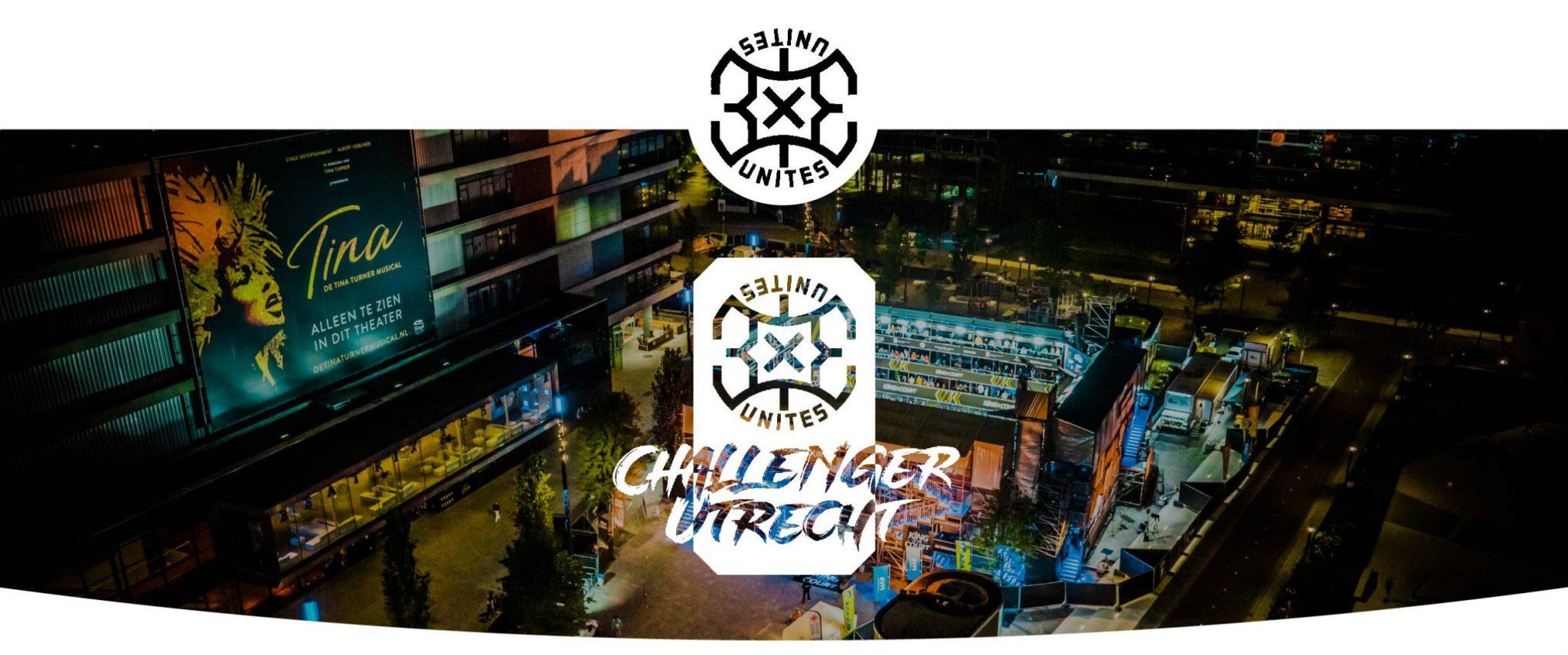 Met 20% korting naar 3x3 Unites Challenger Utrecht 2021
