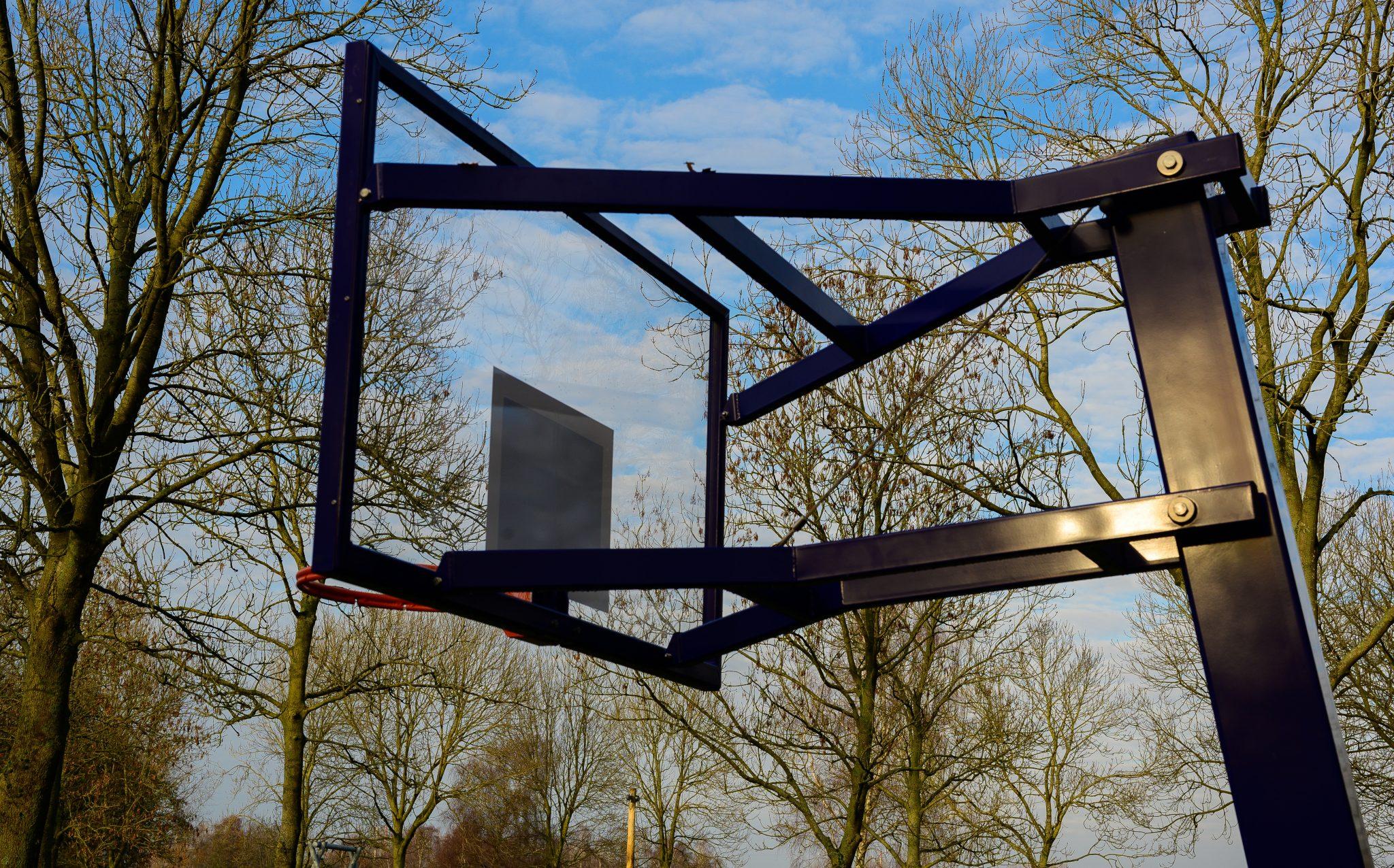 Gemeente knapt basketbalveld Haarlemmermeerse Bos op