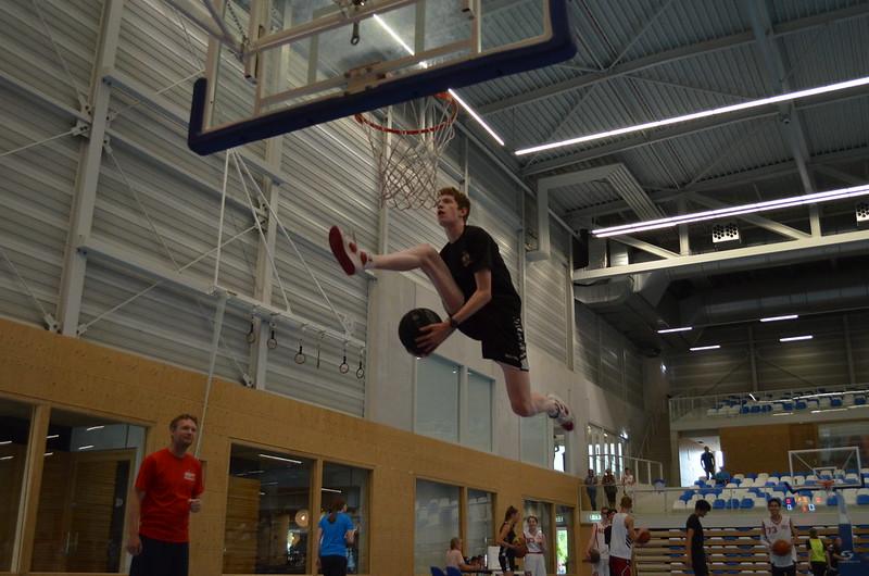 Dunk Contest U16-U18 Seizoensafsluiting 3 juli