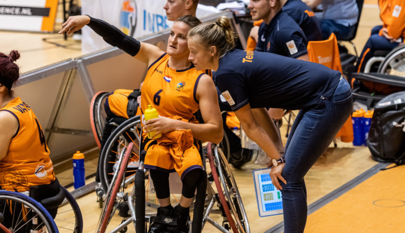 Irene Sloof naar Tokyo als coach voor rolstoelbasketbalsters