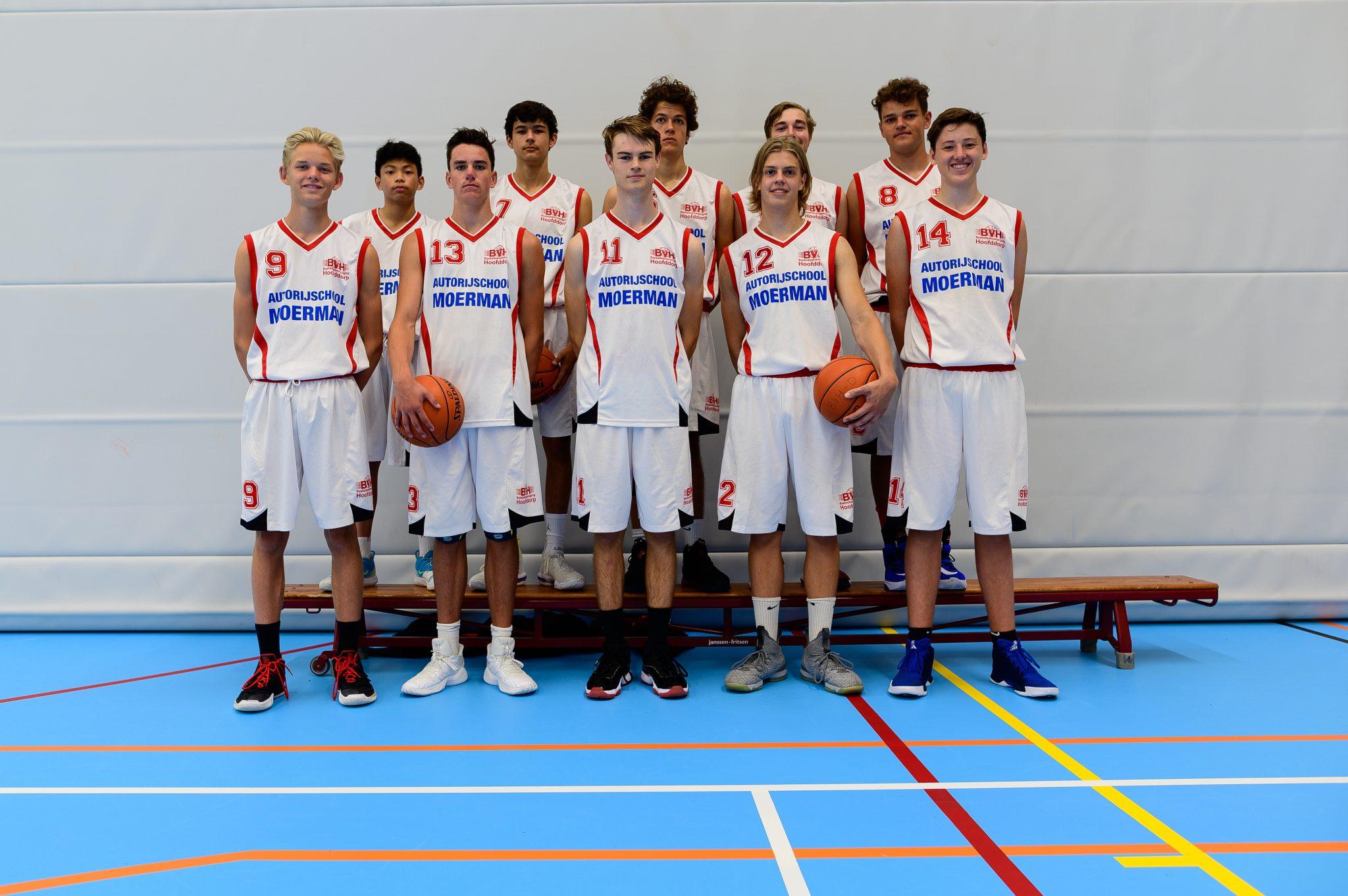 Teamfoto BV Hoofddorp M18 1