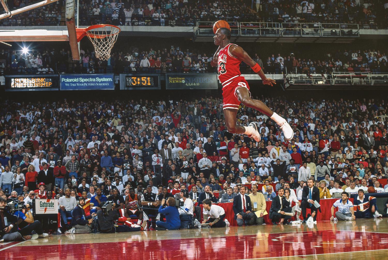 MJ23 Hangtime Iconisch