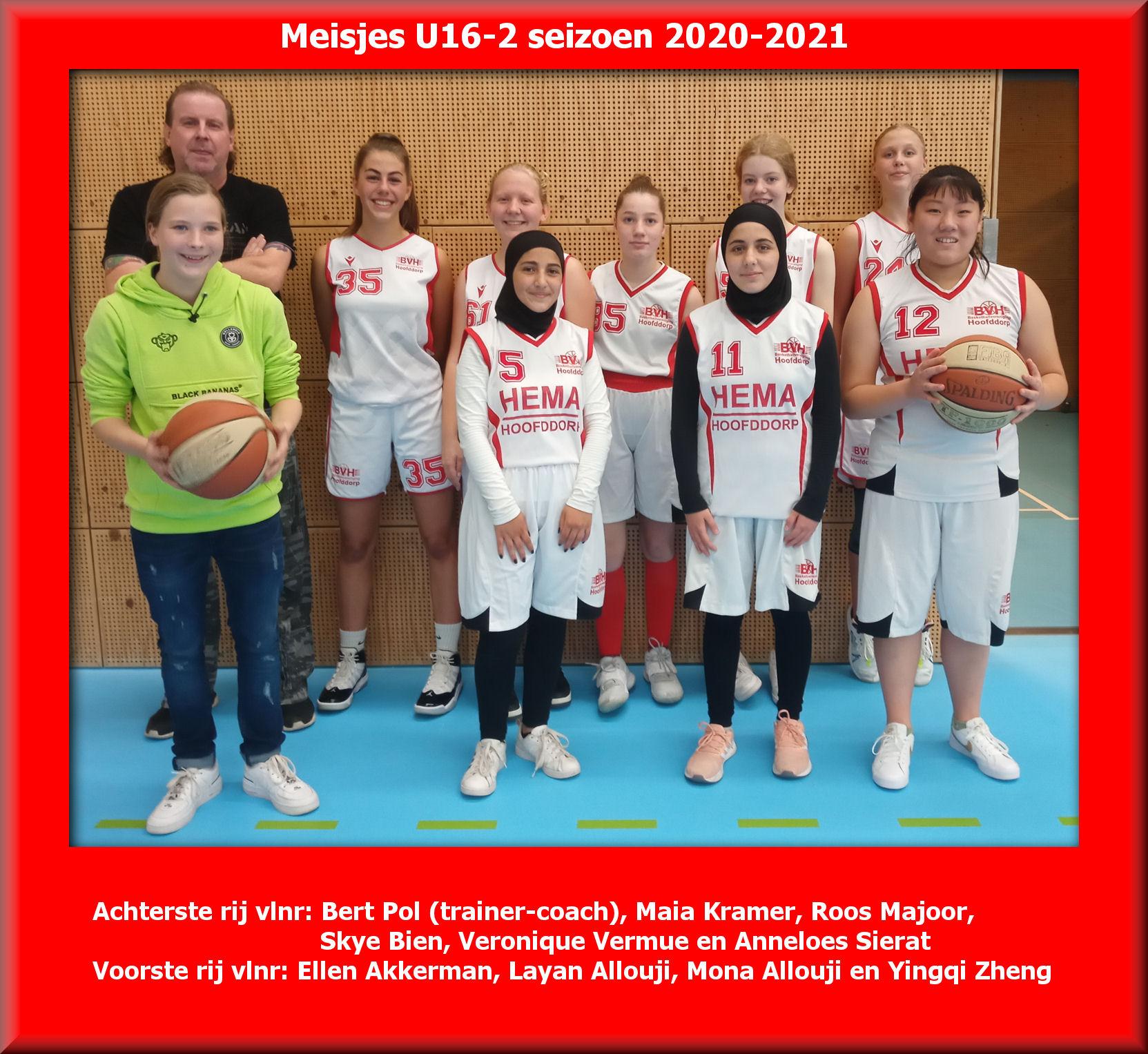 Teamfoto BV Hoofddorp V16 2