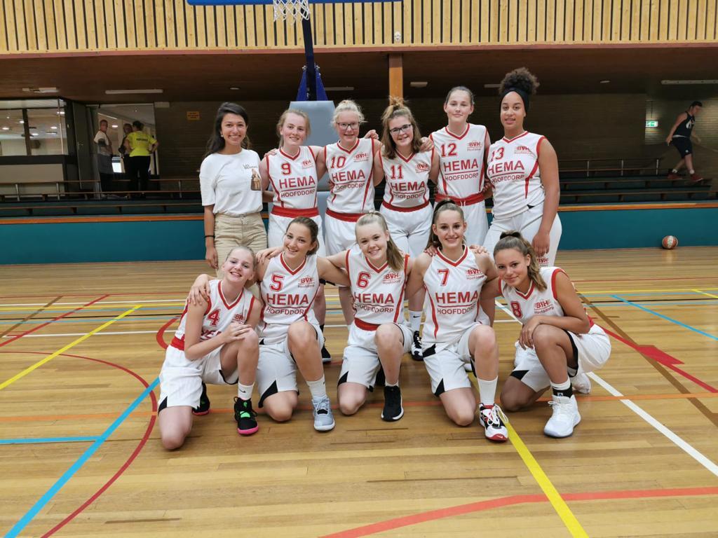 Hoofddorpse meiden uitgenodigd voor Nederlands team testdag