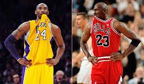 Identieke plays Kobe Bryant en Michael Jordan