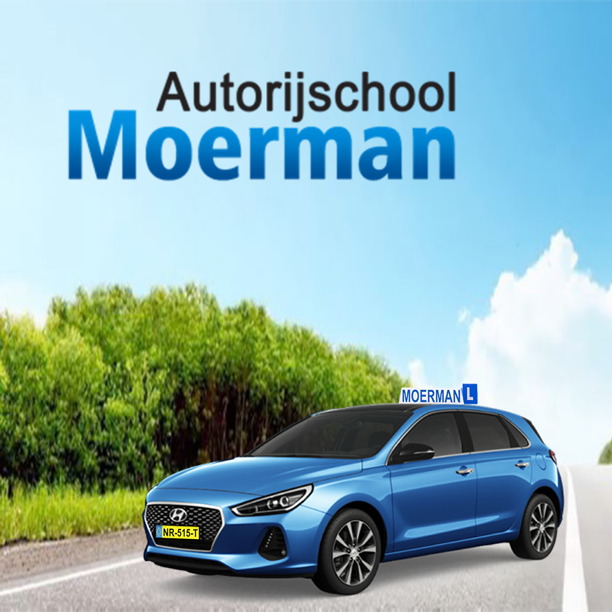 Logo Autorijschool Moerman
