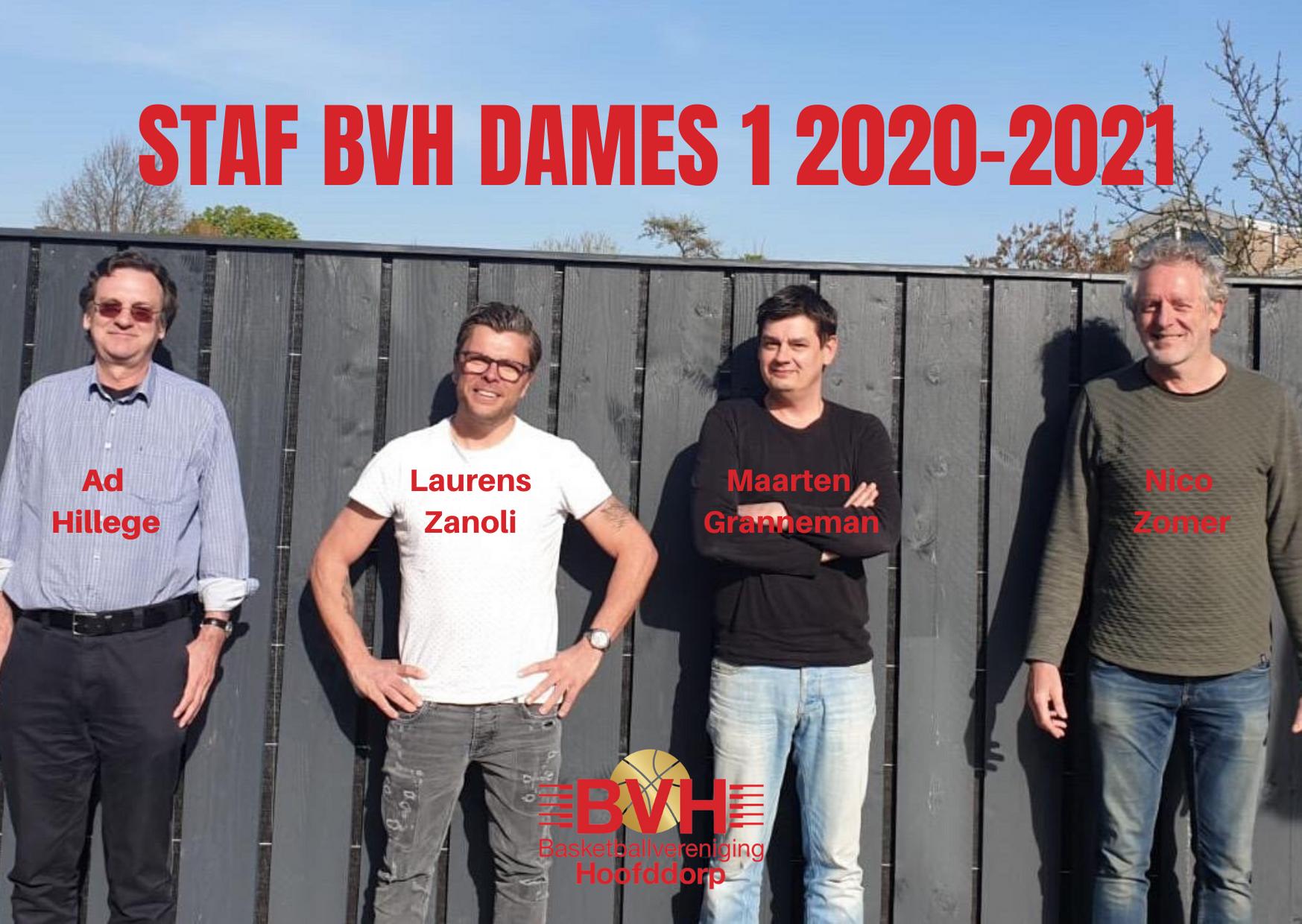 Staf BV Hoofddorp Dames 1